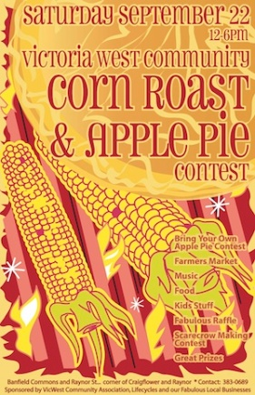 2007 Corn Roast Poster