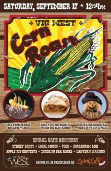 2011 Corn Roast Poster