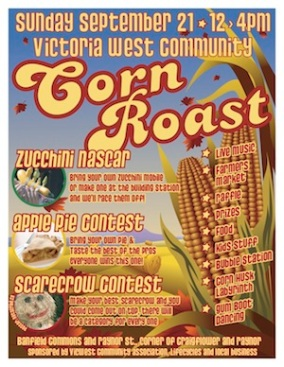2008 Corn Roast Poster