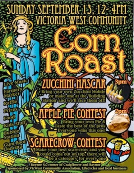 2009 Corn Roast Poster
