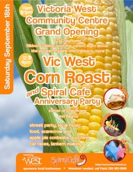 2010 Corn Roast Poster