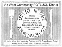 Set the Table Potluck Poster 2011