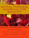 Giving Thanks, Oct 11