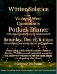 winter-solstice-2016 potluck dinner at Victoria West Community Centre